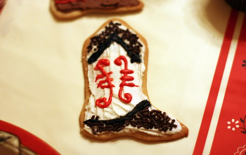 Cowboy Boot Cookie