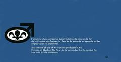 Quebec Cartier Mining Company  |  QCM  |  Logo |  Ville de Gagnon  |  Gagnonville  |  Lac Jeannine  | Mount Wright  |  Fermont  |   Port-Cartier  | Quebec (J P Gosselin) Tags: canada logo de us iron quebec steel cartier ussteel brochure ore aux qc chemist alchemist nouveaux remis gagnon portcartier dinformation qcm fermont employés gagnonville qcm1962 quebeccartierminingcompany qcmlogogagnon villedegagnongagnonville qcmlogo