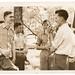 Class Picnic 1941-Look Park-Florence MA-Seymour Pratt-Roger Burt-Winthrop Stone-John Wziontka-Bernhard Humiston