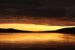 Loch Lomond Sunset (boabmil) Tags: sunset mountains landscape scotland countryside scottish snowcapped lochlomond sunsetting hillwalking balmaha conichill fierysky scenicphotos