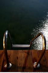 166 - moon struck (Atakan Sevgi) Tags: longexposure light shadow sea summer vacation moon holiday reflection night sta