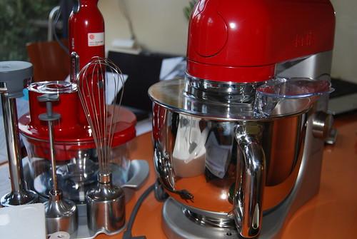 nieuwe keukenmachine