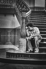 Thinking of the Past..!! (FoZiGraPhy) Tags: bw  fozi       albalawi albuluwi