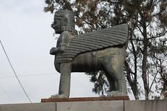 Urartian Sphinx - Erebuni Museum (jrozwado) Tags: sphinx museum asia armenia yerevan erebuni հայաստան թանգարան երեան էրեբունի uruartian arinberd