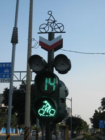 腳踏車紅綠燈小人人