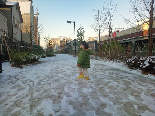 雪見にお散歩〜