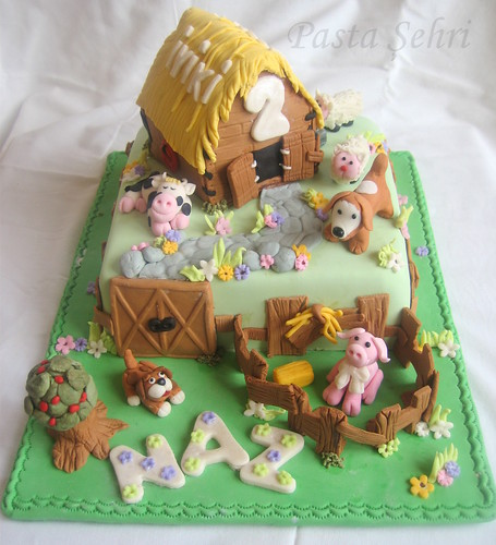 Farm cake by Pastasehri