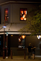 Yes Shanghai Restaurant at Night (Craig Jewell Photography) Tags: orange window night paper asian lights restaurant nightshot chinese sydney australia shades lantern streetcorner f17 lightshades sydneynsw sydneyn 120sec iso560 pentaxk10d smcpentaxfa50mmf14 bluespointroad yesshanghai cpjsm craigjewellphotography