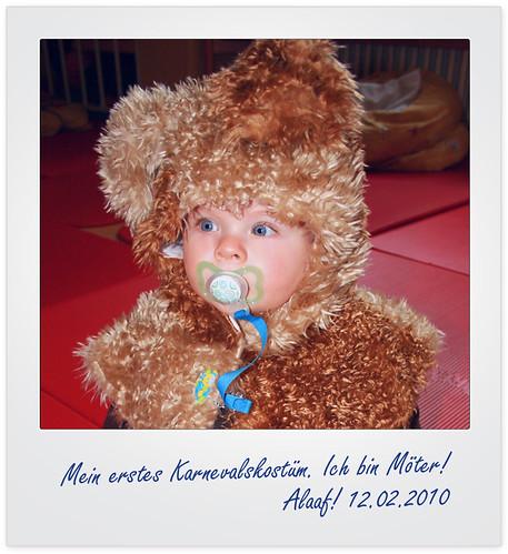 Mein erstes Karneval (12.02.2010)