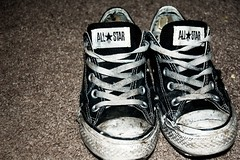 Converse (kelsiepants) Tags: old art star shoes all dirty converse chucks