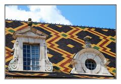 tuiles vernissés (patoche21) Tags: france architecture nikon burgundy bourgogne 18200 beaune patrimoine cotedor d80 nikoniste nikonpassion capturenx2 patrickbouchenard