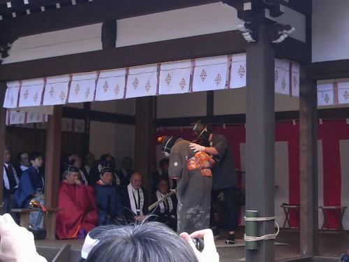飛鳥坐神社(おんだ祭)@明日香村-09