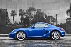 MiniPorsche (Talal Al-Mtn) Tags: blue car work canon automobile small gear mini automotive porsche automatic manual kuwaiti q8 photoshoping caymans kwt porschecaymans 450d fromkuwait lm10 inkuwait  bytalalalmtn talalalmtnphotography photographybytalalalmtn gasgeat 45d0