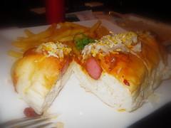 墨西哥紅辣椒豆熱狗