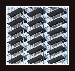 Balconies (o palsson) Tags: plaza building architecture design north raleigh highrise carolina balconies condominiums rbc