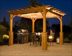 A pergola creates a extremely good - Outdoor Pergola Lights