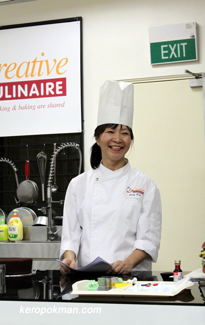 Chef Judy Koh from Creative Culinaire