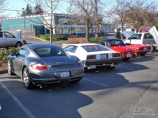 Porsche, Lotus, Triumph, Lotus