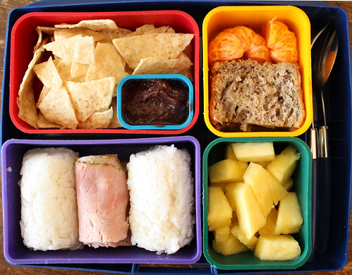Kindergarten Bento #299: March 9, 2010