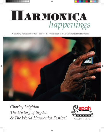 Harmoninca Happenings Cover