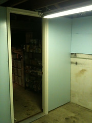Inside corner insulation