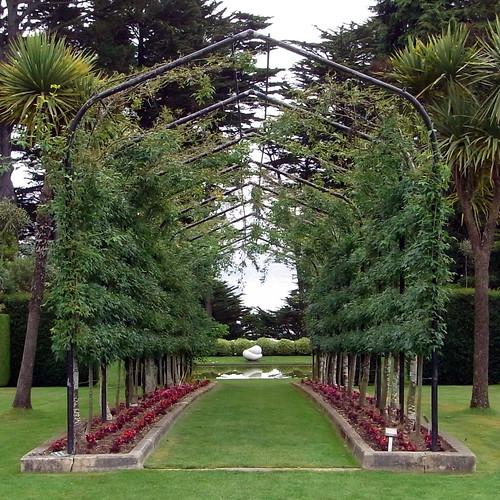 Larnach Castle Garden Arch