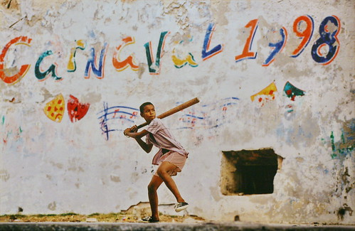 フリー写真素材, 人物, 子供, 少年・男の子, 運動・スポーツ, 球技, 野球, キューバ人,