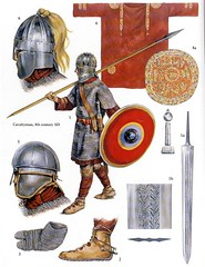 roman warrior (cool-art) Tags: rome roman profile helmet guard constantine warriors byzantine emperor pagan itlay milvian chirstianity i
