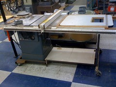 Clausing table saw