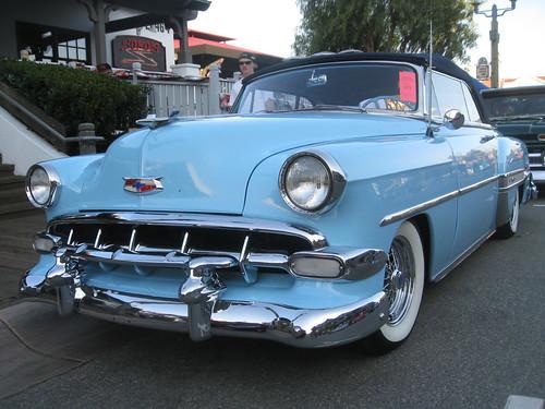 Chevrolet BelAir Convertible - 1954 .