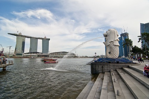 singapore tour merlion