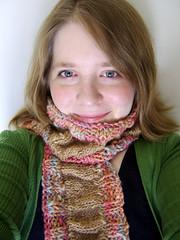 Frosty Feet Scarf (ladydanio) Tags: feet scarf frosty betty veronica designs handspun ilash