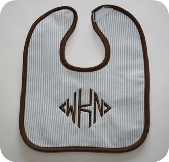 Hampton Stripe Bib