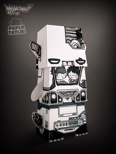 Paper Totem! x Pandacrew Etc