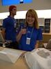 Katie at the San Francisco Apple Store (Alaa Esmaiel) Tags: sanfrancisco applestore ipad ipadlaunch