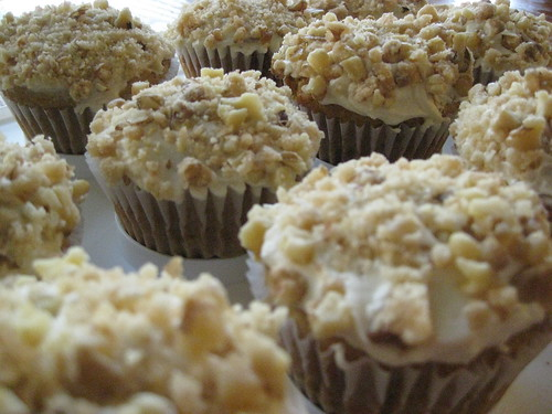 Maple Walnut Vegan Cupcakes
