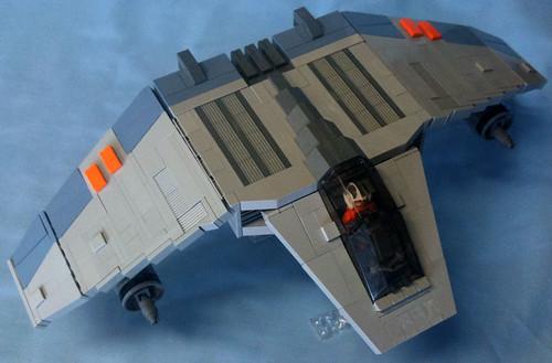 v-wing fighter