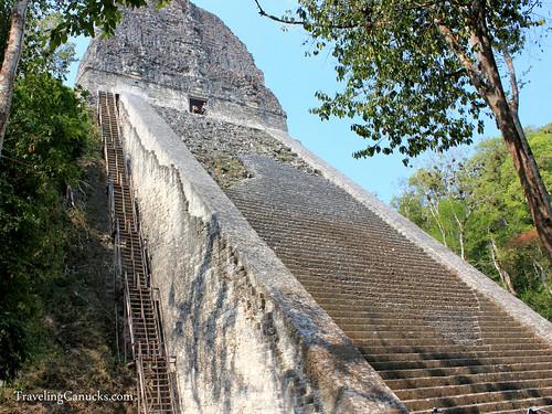Temple 5 in Tikal National Park, Guatemala