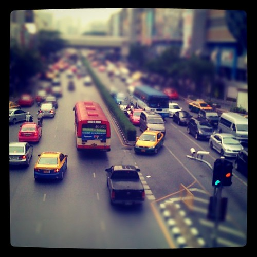 Bangkok Traffic 2 by thomaswanhoff