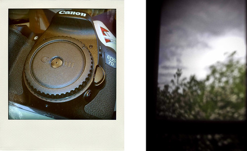 digital pin hole camera experiment