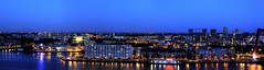 Feijenoord Panorama Blue Hour / Rotterdam, NL (Niels Photography) Tags: nightphotography urban panorama holland reflection water skyline buildings river boats rotterdam nightlights ships tripod nederland thenetherlands panoramic citylights bluehour maas urbanism canoneos manfrotto unilever urbanskyline noordereiland zuidholland 50mmf18 rivier 500d feijenoord urbanity nightskyline hogewiek rotterdamzuid southholland rebelt1i worldportcity