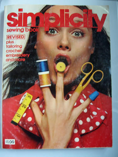 Smpl Sewing book 70's cover