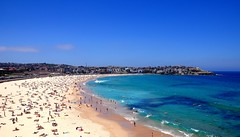 Crescent (Johanna Alexis) Tags: new summer beach nature bondi wales swim nikon surf south sydney australia crescent d90