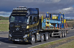 Dyce Carriers Mercedes Actros 2551 SV63OKD (andyflyer) Tags: mercedes actros dycecarriers actros2551 sv63okd