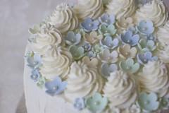 Cake with lemon curd and whipped cream frosting (Explore) (EvasSvammel) Tags: cake lemoncurd whippedcreamfrosting