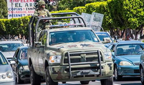 2016 - Mexico - Morelia - Michoacan Policia