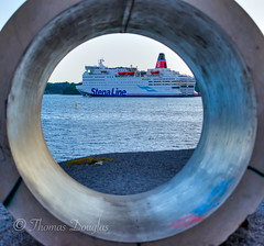 Oslo Harbour Norway (600tom) Tags: oslo norway pipe ship harbour water beautiful holiday fun scandanavia