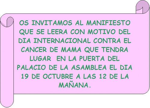 Día Internacional del Cancer de Mama