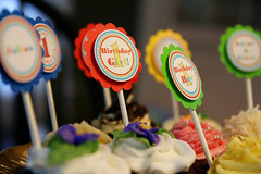Cupcake Toppers (mharvey75) Tags: birthday cupcakes twins