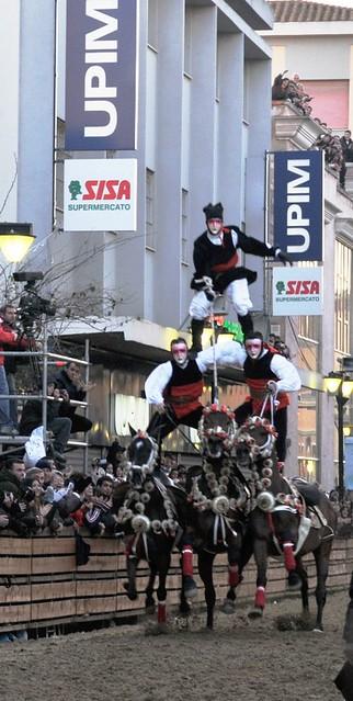 Sartiglia 2009 The Carneval of Oristano Sardinia Italy